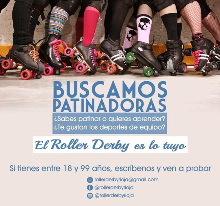 Roller Derby Rioja deporte femenino en patines - pic0
