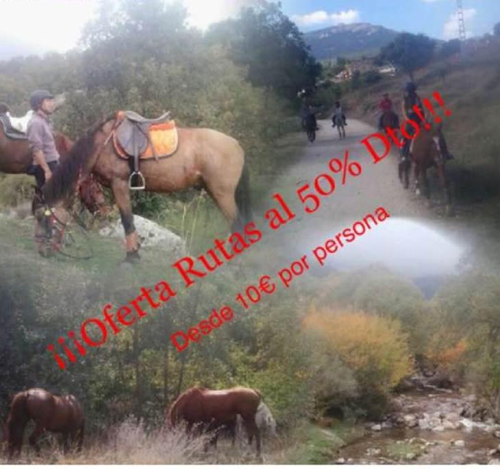 Ruta a caballo por 10 € - pic0