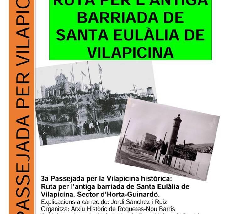 RUTA DEL BARRI DE VILAPICINA AMB L´ARXIU ROQUETES - pic0