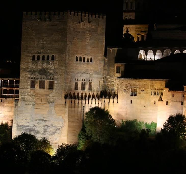 ruta nocturna por el centro de Granada - pic0