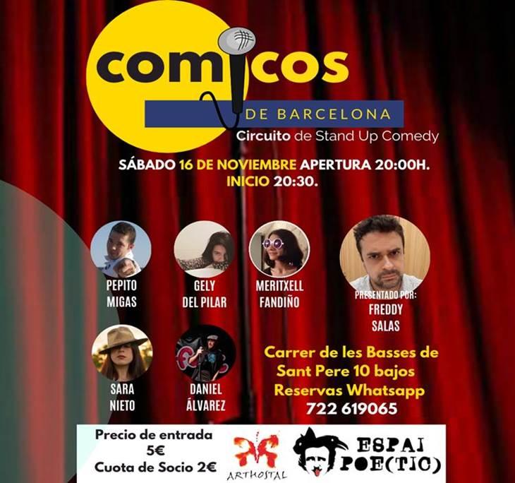 Sábado de Monólogos / Cómicos de Barcelona - pic0