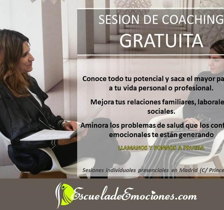 Sesión Coaching gratuita en Madrid-PREVIA CITA - pic0