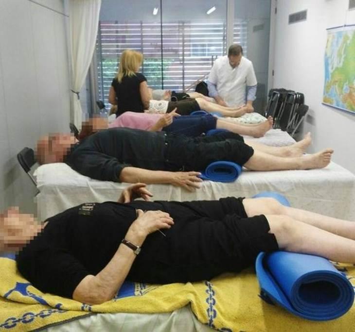 Sesiones de acupuntura comunitaria - pic0