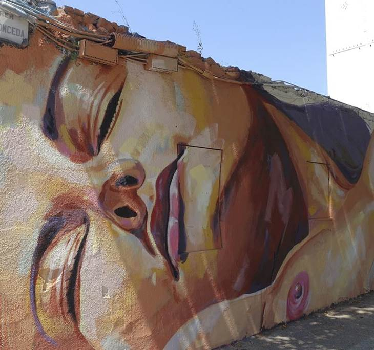 STREET ART POBLENOU + ORXATA AL TÍO CHE - pic1