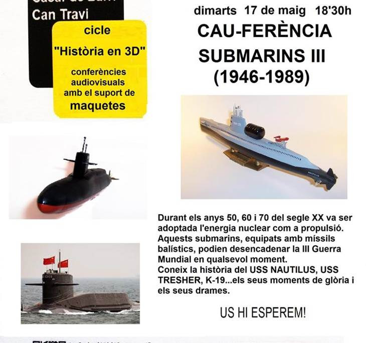 SUBMARINS III (De 1946 a 1989): La Guerra Freda - pic3