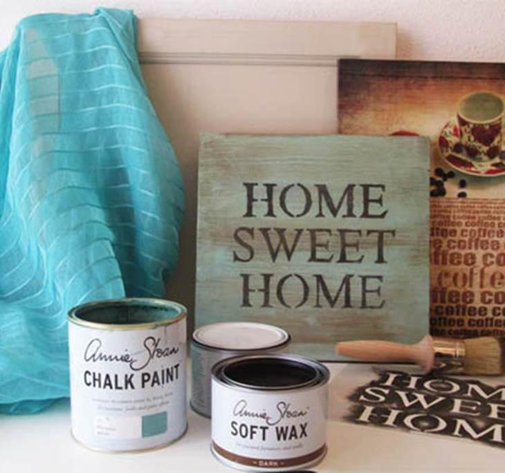 how to get a vintage look with chalk paint