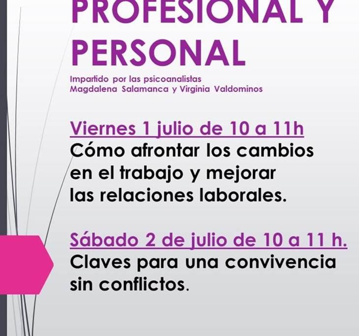 TALLER DE CRECIMIENTO PERSONAL Y PROFESIONAL - pic0