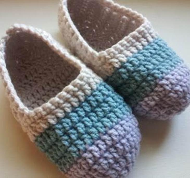 Taller de zapatillas de crochet - Uolala