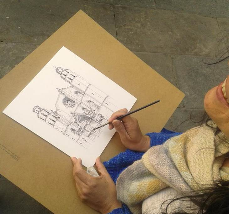 Taller: Sketching exprés en el Paseo de Gracia - pic0