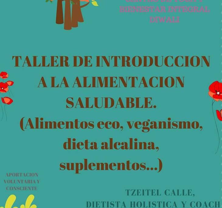 TALLER INTRODUCCIÓN A LA ALIMENTACIÓN SALUDABLE - pic0