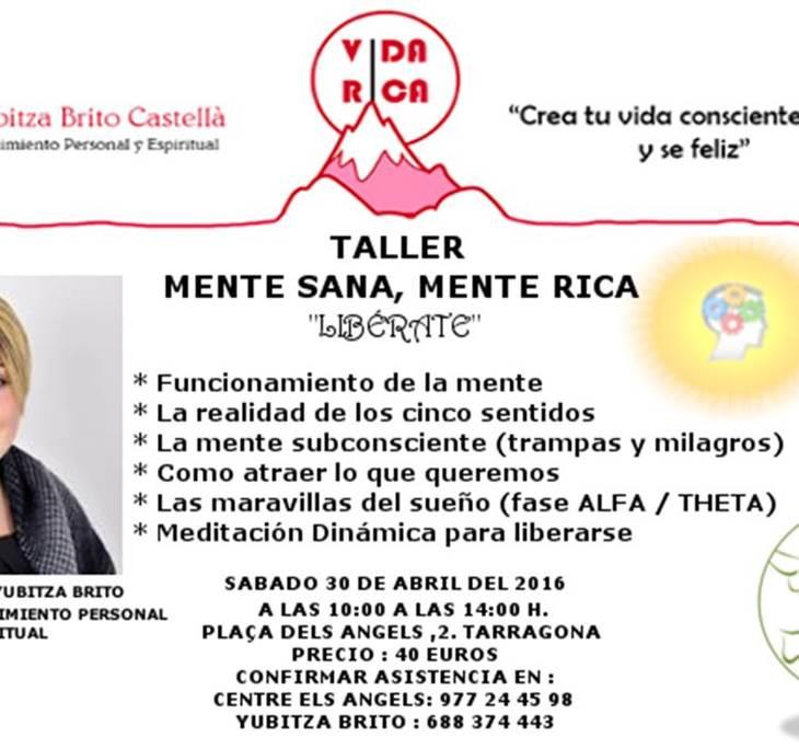 TALLER MENTE SANA MENTE RICA - pic0