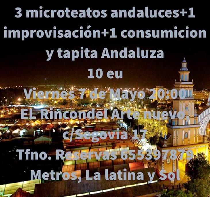 Feria de abril,3 sainetes andaluces+bebida+tapa10e - pic1