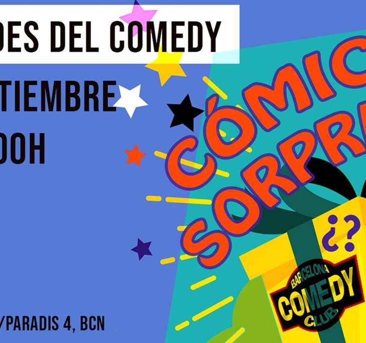 Tardes del comedy: CÓMICO SORPRESA - pic0