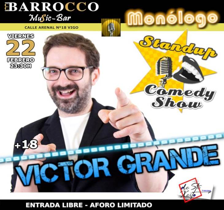 Victor Grande Noche de Humor en Vigo - pic2