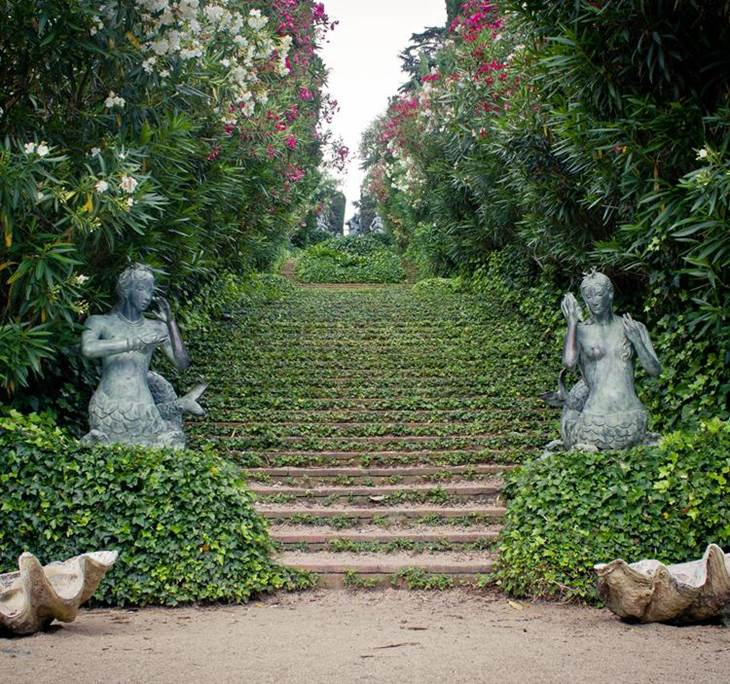 Visita a los jardines secretos de lloret uolala for El jardin de los secretos
