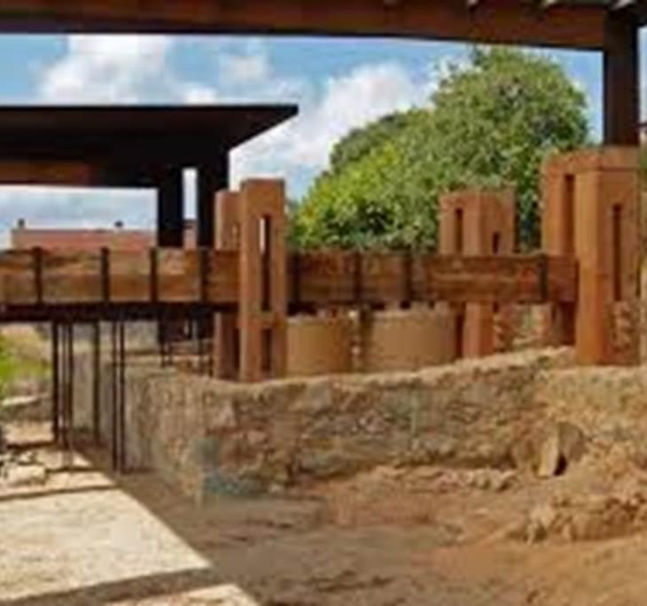 Visita al celler romà de Vallmora  (Teià, BCN) - pic0