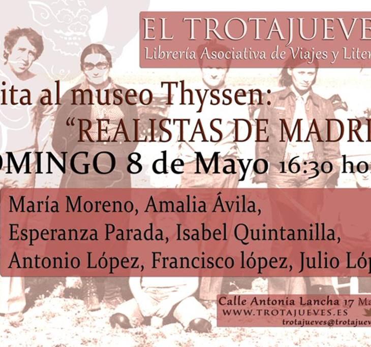 Visita  Exposición REALISTAS DE MADRID - pic0